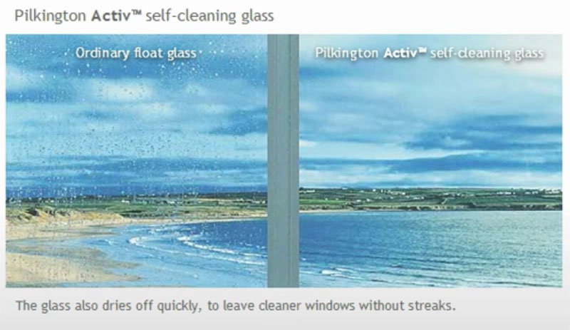 Bartley Glass Self Cleaning Glass Comparison