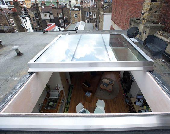 Bartley Glass Flat opening roof lantern