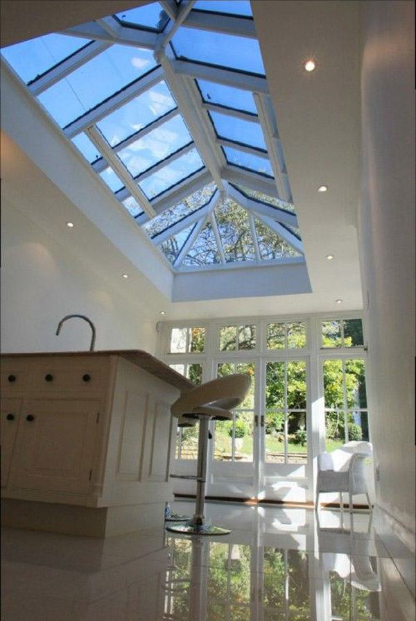 Bartley Glass pitched roof lantern