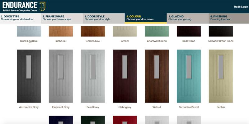 Bartley Glass Composite Door Design Colour 4