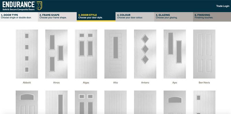 Bartley Glass Composite Door Design Door Style 3