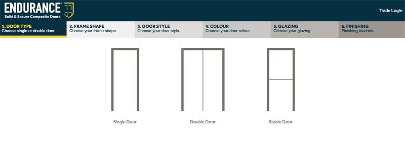 Bartley Glass Composite Door Design Door Type 1