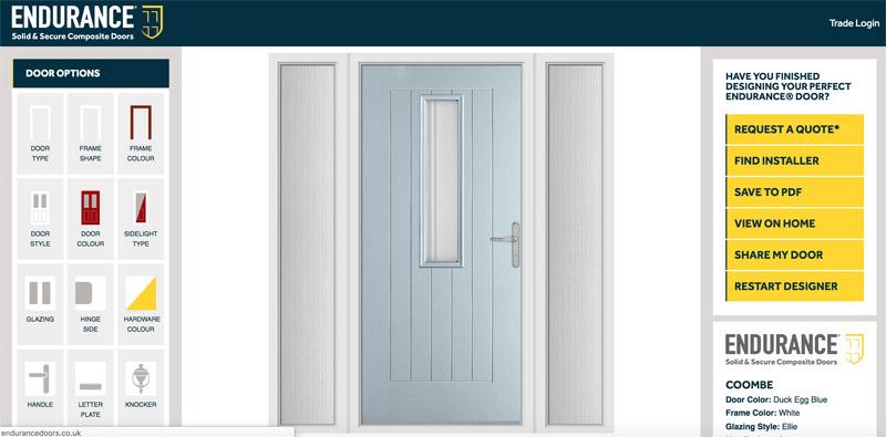 Bartley Glass Composite Door Design Finished Door 6